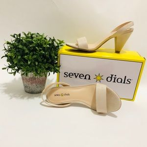 Seven Dials Ramsbury One Band Suede Sling Sandals
